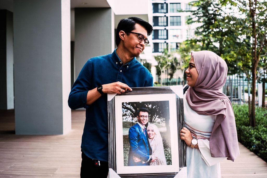 frame wedding photography malaysia portrait