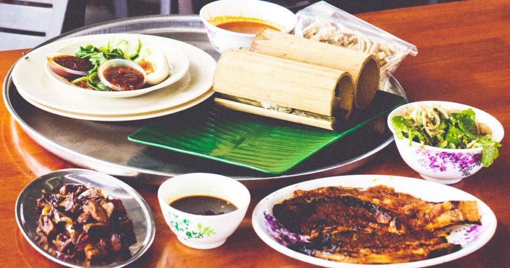 Nasi Bamboo
